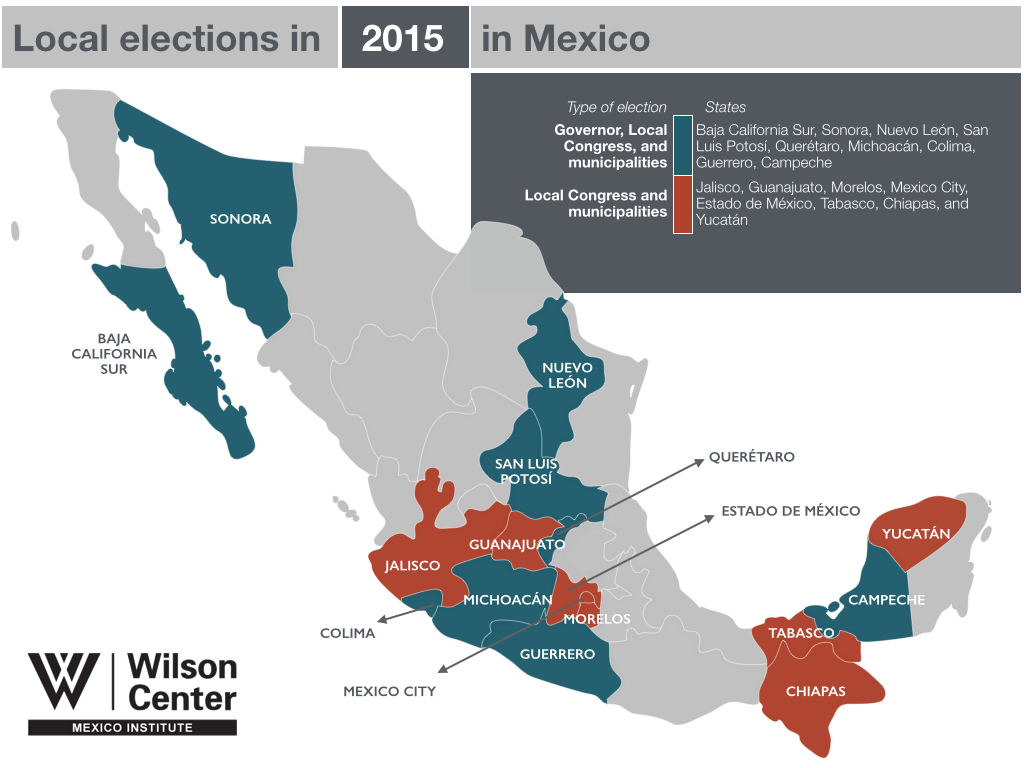 The 2015 Election The Mexico Institutes 2015 Elections Guide