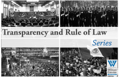 Transparency and Rule of Law